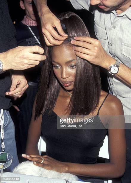 Todd Oldham Fashion Show October 29 1996 at Bryant Park in New York City New York United States