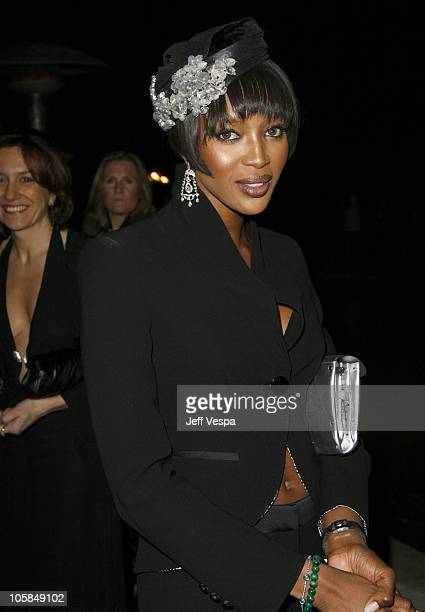 Naomi Campbell during Giorgio Armani Prive in LA Inside at Green Acres in Los Angeles California United States