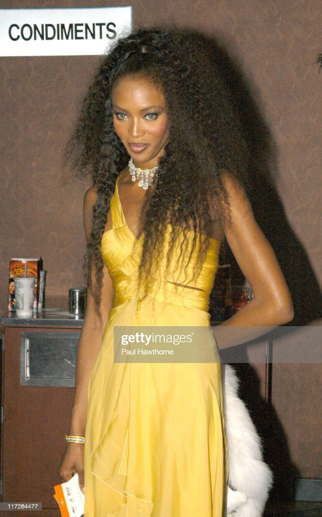 Naomi Campbell during Honey - New York Premiere - Inside Arrivals at Chelsea West Theater in New York City, New York, United States.