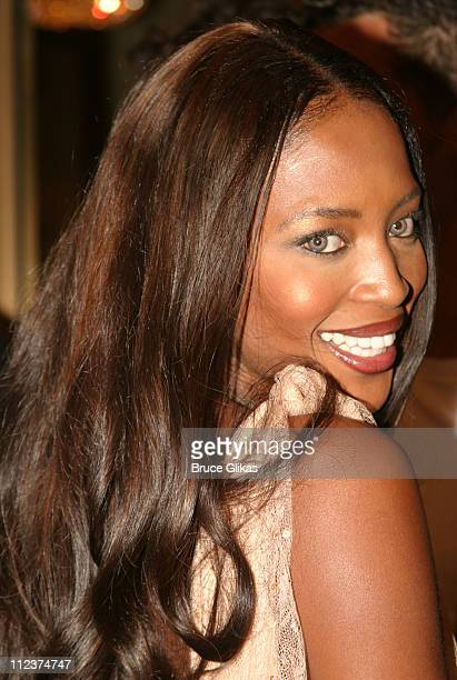 Naomi Campbell during Opening Night of 'A Raisin In The Sun' on Broadway at The Royale Theater / Guastavino's in New York City New York United States