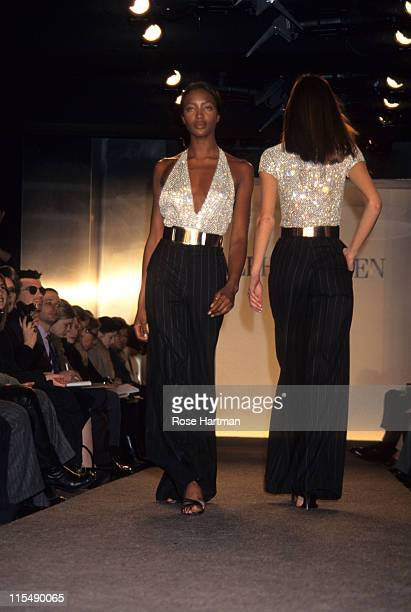 Naomi Campbell during Ralph Lauren Fashion Show 1994 in New York City New York United States
