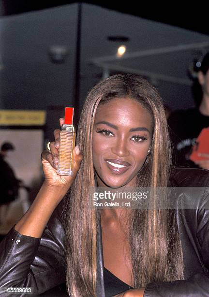 Naomi Campbell during Release of Color Studio Opulents by Revlon September 19 1991 at Bloomingdale's in New York City NY United States