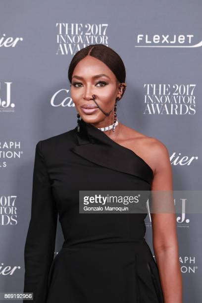 Naomi Campbell during the WSJ Magazine 2017 Innovator Awards at Museum of Modern Art on November 1 2017 in New York City