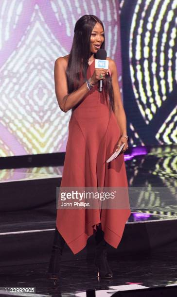 Naomi Campbell during WE Day UK 2019 at The SSE Arena on March 06 2019 in London England