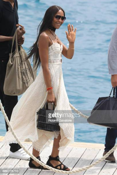Naomi Campbell is spotted during the 70th annual Cannes Film Festival at on May 22 2017 in Cannes France