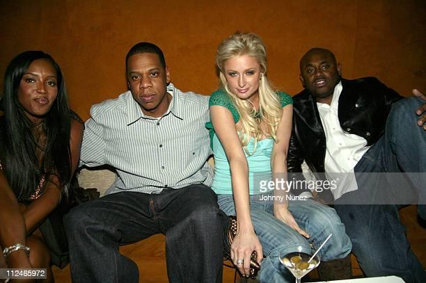 Naomi Campbell JayZ Paris Hilton and Steve Stout