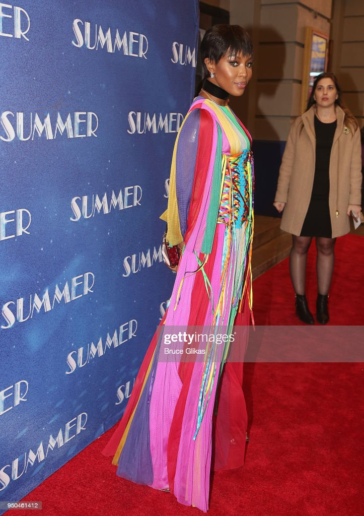 """""""Summer: The Donna Summer Musical"""" Broadway Opening Night - Arrivals & Curtain Call"""