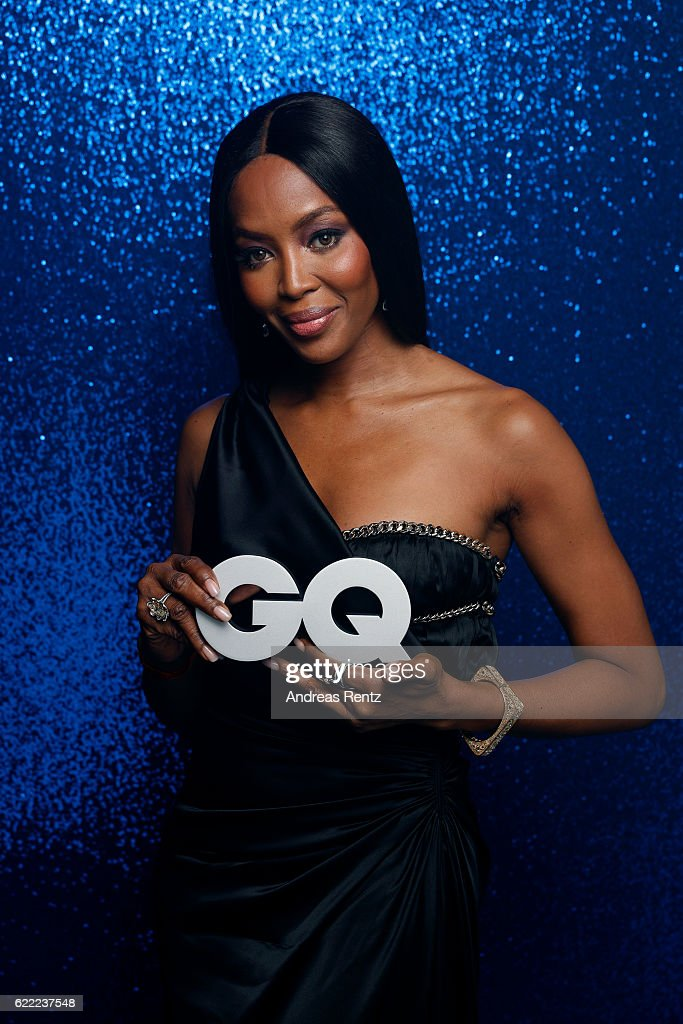Naomi Campbell poses backstage at the GQ Men of the year Award 2016 (german: GQ Maenner des Jahres 2016) at Komische Oper on November 10, 2016 in Berlin, Germany.