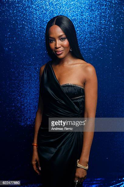 Naomi Campbell poses backstage at the GQ Men of the year Award 2016 at Komische Oper on November 10 2016 in Berlin Germany