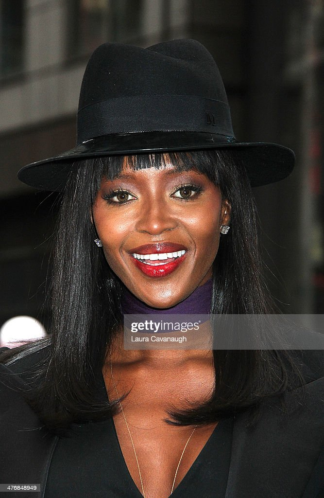 Naomi Campbell rings the Closing Bell at NASDAQ MarketSite on March 5, 2014 in New York City.