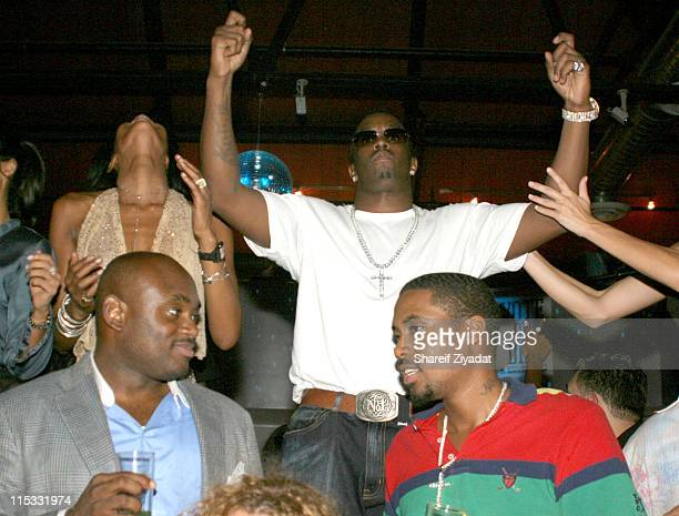 Naomi Campbell Sean 'P Diddy' Combs Steve Stout and Nas