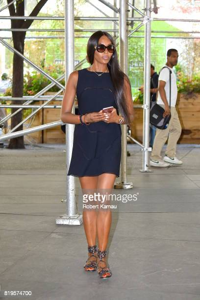 Naomi Campbell seen out in Manhattan on July 19 2017 in New York City