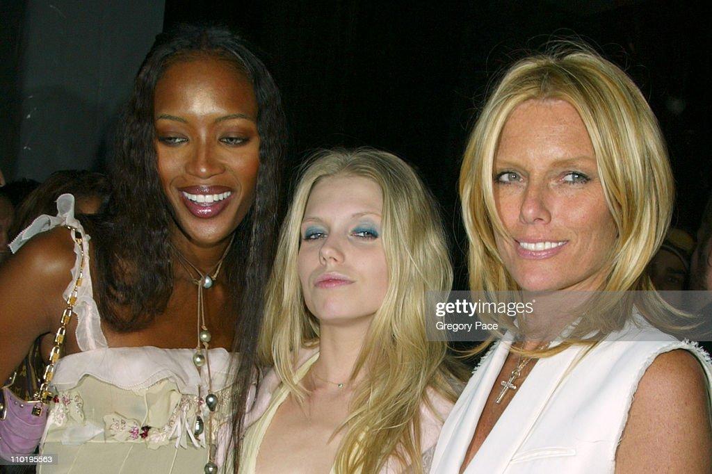 Naomi Campbell, Theodora Richards and Patti Hansen