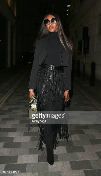 Naomi Campbell turned heads as she arrived at West African dining hot spot Ikoyi London tonight The supermodel and activist stopped by at the...