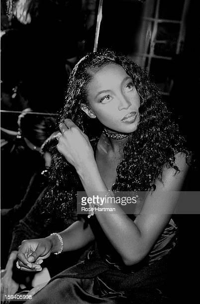 Naomi Campbell, Victoria's Secret fashion show, Plaza Hotel, New York, New York, early 1990s.