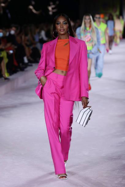 ITA: Versace - Runway - Milan Fashion Week - Spring / Summer 2022