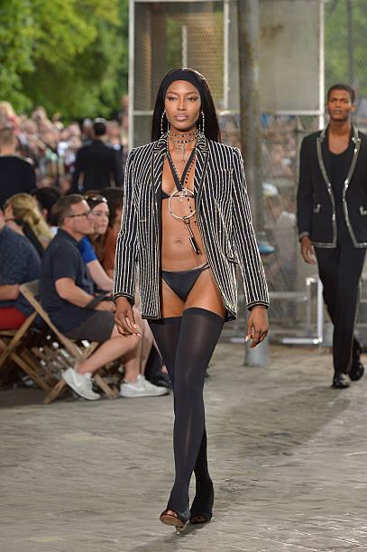 Naomi Campbell Runway 2015