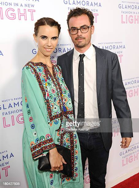 Naomi deLuce Wilding and Anthony Cran attend Glamorama Fashion in a New Light benefiting AIDS Project Los Angeles presented by Macy's Passport at...