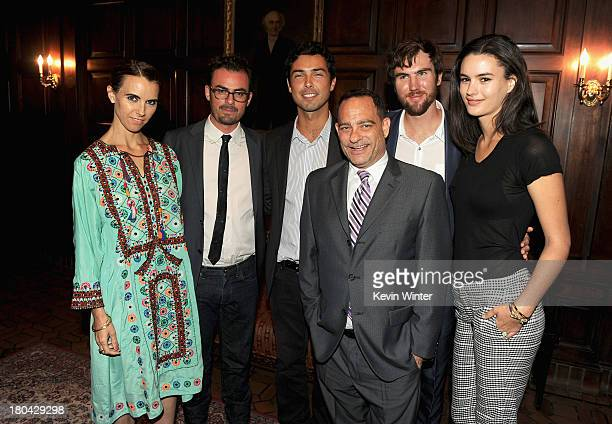 Naomi deLuce Wilding Anthony Cran Caleb Wilding Joel Goldman Tarquin Wilding and Kasimira Miller attend Glamorama Fashion in a New Light benefiting...