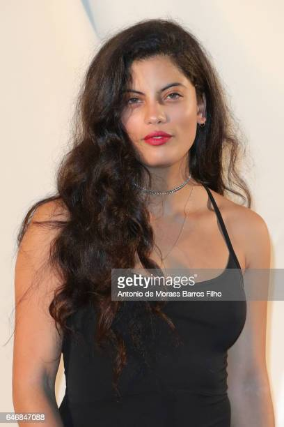Naomi Diaz attends the HM Studio show as part of the Paris Fashion Week on March 1 2017 in Paris France