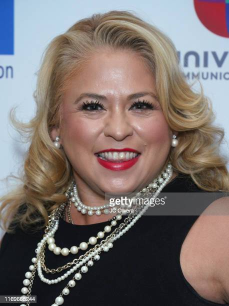 Naomi Dominguez attends the NHMC's 17th Annual Los Angeles Impact Awards luncheon at Hilton Universal City on August 22 2019 in Universal City...
