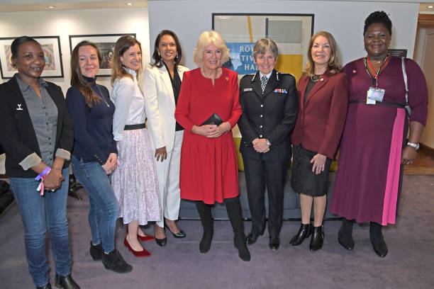 GBR: The Duchess Of Cornwall Attends The WOW Women Of The World Festival Grand Opening