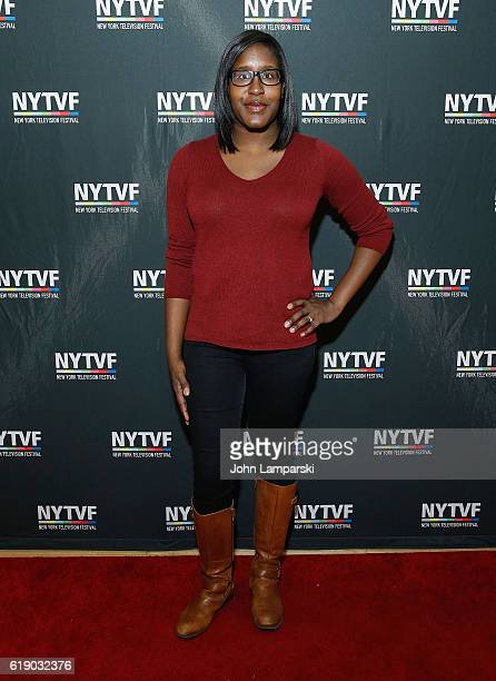 Naomi Ekperigin attends Development Day Panels during the 12th Annual New York Television Festival at Helen Mills Theater on October 29 2016 in New...