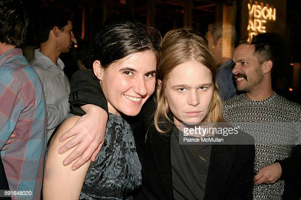 Naomi Fisher and Hanna Liden attend VISIONAIRE 47 Taste Launch at The Setai on December 3 2005