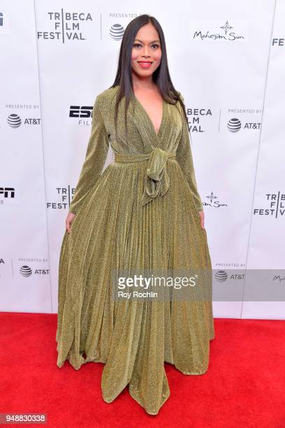 Naomi Fontanos attends the premiere of 'Call Her Ganda' during the 2018 Tribeca Film Festival at Cinepolis Chelsea on April 19 2018 in New York City