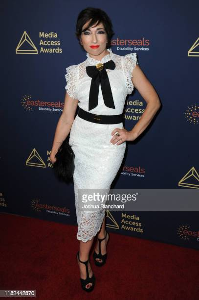 Naomi Grossman attends the 40th Annual Media Access Awards In Partnership With Easterseals at The Beverly Hilton Hotel on November 14 2019 in Beverly...
