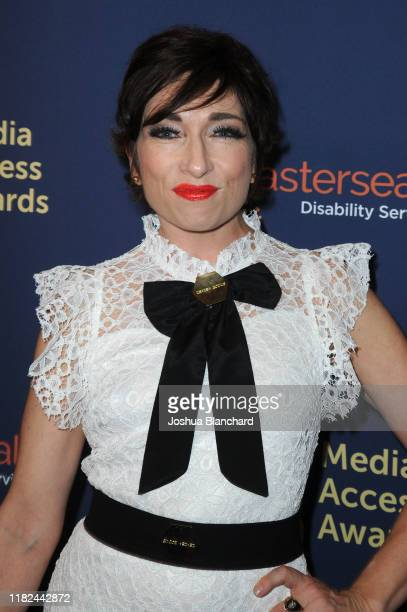 Naomi Grossman attends the 40th Annual Media Access Awards In Partnership With Easterseals at The Beverly Hilton Hotel on November 14, 2019 in...