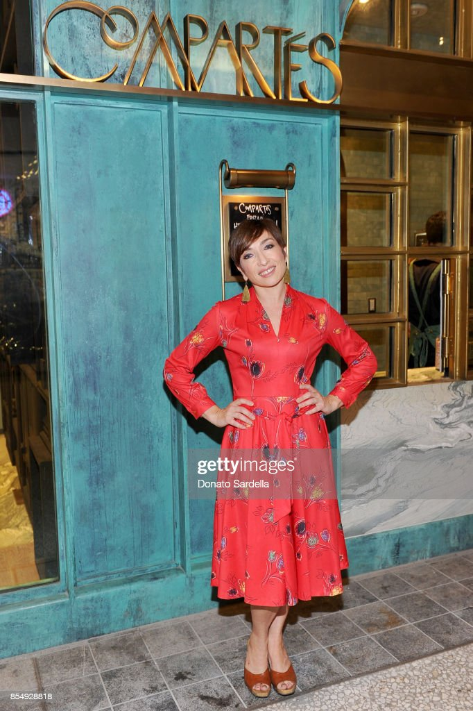 Naomi Grossman celebrates the Compartes Chocolatier Century City Flagship Store Opening on September 27, 2017 in Los Angeles, California.