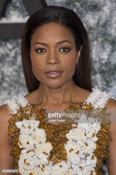 Naomi Harris attends the European Premiere of 'Collateral Beauty' at Vue Leicester Square on December 15 2016 in London England