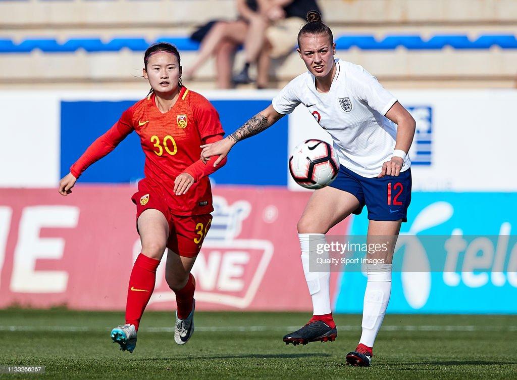England v China - Women U19's International Friendly : News Photo