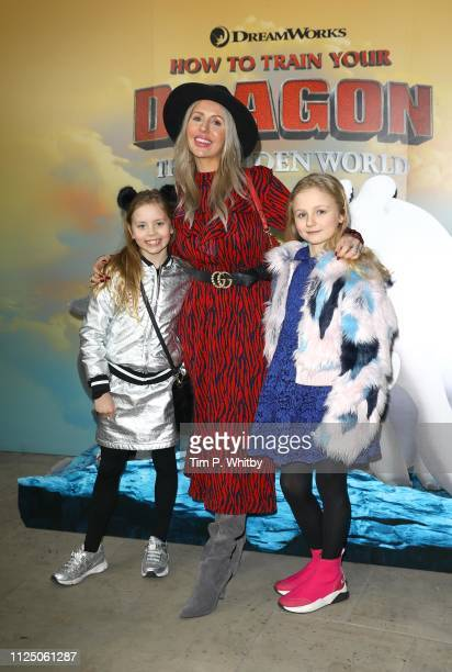 Naomi Isted and guests attend How To Train Your Dragon The Hidden World – Immersive Screening on January 26 2019 in London England