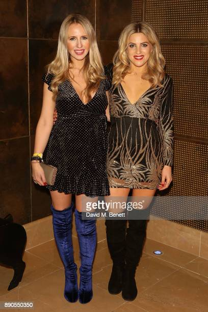 Naomi Isted and Olivia Cox attend a special screening of 'Finding Your Feet' at The May Fair Hotel on December 11 2017 in London England