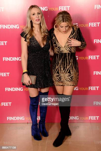Naomi Isted and Olivia Cox attend the 'Finding Your Feet' special screening at The May Fair Hotel on December 11 2017 in London England