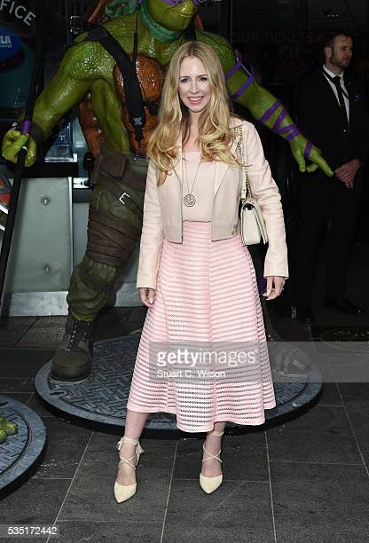 Naomi Isted arrives for the gala screening of Teenage Mutant Ninja Turtles Out Of The Shadows at Vue West End on May 29 2016 in London England