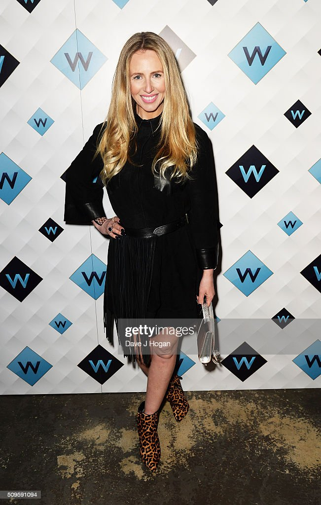 Naomi Isted attends a celebration of the new TV channel 'W,' launching on Monday 15th February, at Union Street Cafe on February 11, 2016 in London, England.