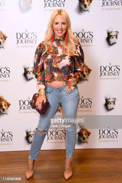 Naomi Isted attends a gala screening of A Dog's Journey at The Soho Hotel on April 27 2019 in London England