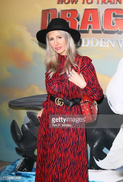Naomi Isted attends How To Train Your Dragon The Hidden World – Immersive Screening on January 26 2019 in London England