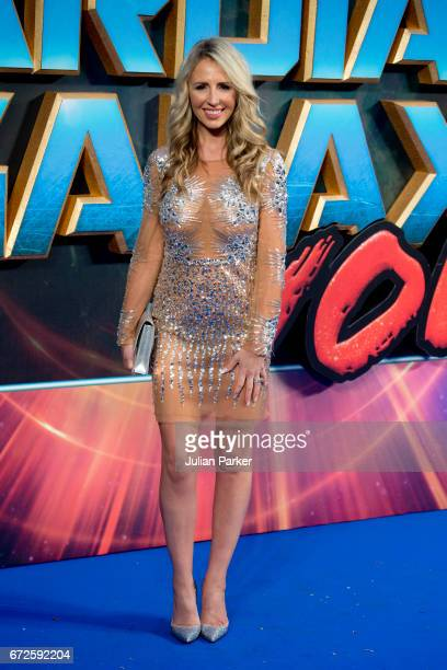Naomi Isted attends the European Gala Screening of 'Guardians of the Galaxy Vol 2' at Eventim Apollo on April 24 2017 in London United Kingdom