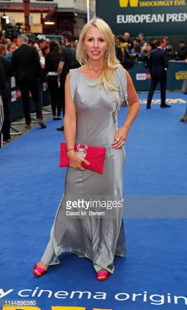 """Naomi Isted attends the European Premiere of """"Extremely Wicked, Shockingly Evil And Vile"""" at The Curzon Mayfair on April 24, 2019 in London, England."""