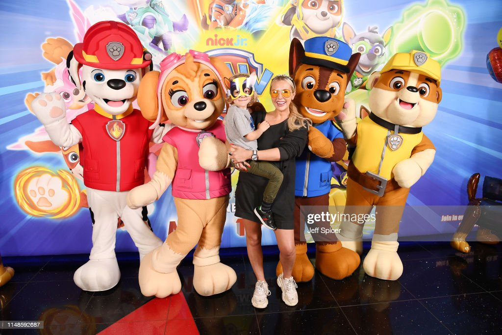 Naomi Isted attends the Gala screening of Paw Patrol Mighty
