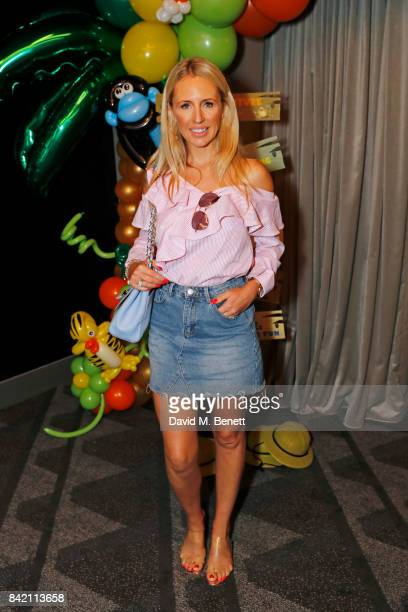"""Naomi Isted attends the gala screening of """"The Jungle Bunch"""" at Vue Leicester Square on September 3, 2017 in London, England."""