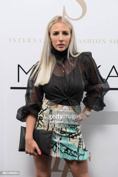 Naomi Isted attends the inaugural International Fashion Show at Rosewood Hotel on May 25 2018 in London England