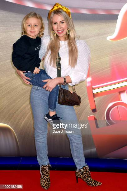 """Naomi Isted attends the """"Paw Patrol"""" gala screening at Cineworld Leicester Square on January 19, 2020 in London, England."""