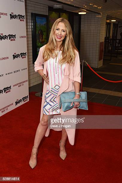 Naomi Isted attends the UK gala screening of Angry Birds at Picturehouse Central on May 7 2016 in London England