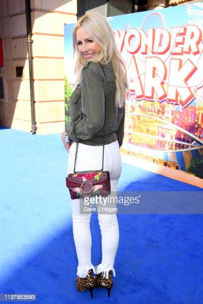 Naomi Isted attends the UK Gala screening of WONDER PARK at Vue Leicester Square on March 24 2019 in London England