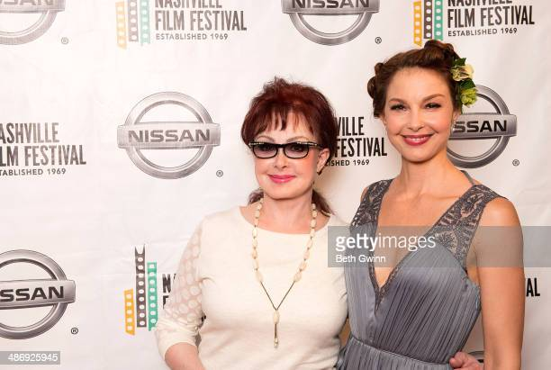 Naomi Judd and Ashley Judd attend the screening of 'The Idenitical' on day 11 of the 2014 Nashville Film Festival at Regal Green Hills on April 26...